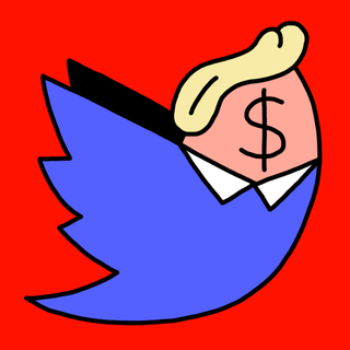 profile for twitter bot @trump2cash